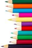 Color pencils set Royalty Free Stock Photos