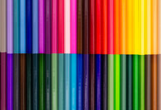 Color pencils. Set of color pencils, background Royalty Free Stock Photos