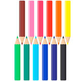 Color pencils set. Stock Photo
