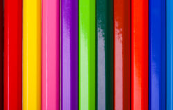 Color pencils texture Royalty Free Stock Images