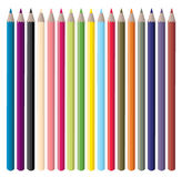 Color Pencils Vector Royalty Free Stock Photos