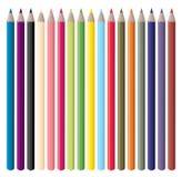 Color Pencils Vector Royalty Free Stock Photos