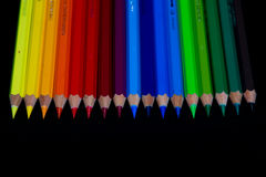 Color pencils, Back to school stock image