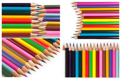 Color pencils Stock Photo