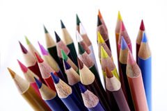 Color penicls Stock Images
