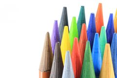 Color pens Royalty Free Stock Images