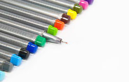 Color pens Stock Image