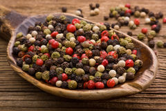 Color pepper Royalty Free Stock Images