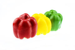 The Color pepper Stock Photography