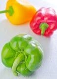 Color pepper Stock Photo