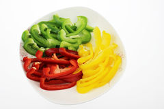 The Color pepper Stock Photo