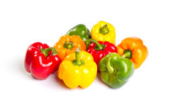 color peppers Royalty Free Stock Image