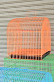 Color pet cage for sale Stock Image