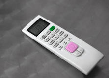 AIR CONDITIONER INFRARED REMOTE CONTROL royalty free stock photos