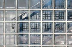 Wall of glass blocks Stock Photography