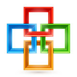 Color Picture Frame Background Royalty Free Stock Photography
