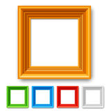 Color Picture Frame Royalty Free Stock Images