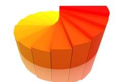 Color Pie Diagram Royalty Free Stock Photos