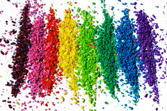 Color pigment Stock Photography