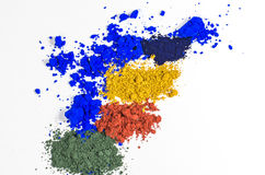 Color Pigments Royalty Free Stock Image