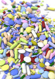 Color pills Royalty Free Stock Photos