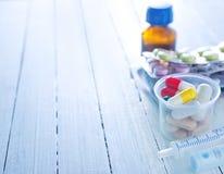 Color pills Royalty Free Stock Photos