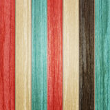 Color on planks Royalty Free Stock Photography