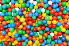 Color plastic balls Royalty Free Stock Photography