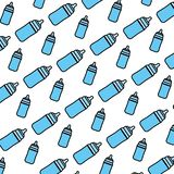 Color plastic bottle feeding object background. Vector illustration vector illustration