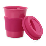 Color plastic cup Stock Photography