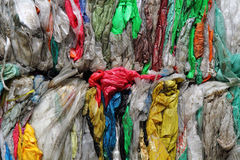Color plastic garbage Royalty Free Stock Images