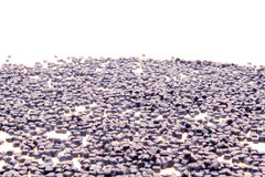 Color plastic granules Stock Photos