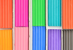 Color plasticine Stock Image