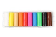 Color plasticine Stock Photo