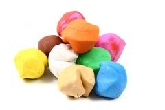 Color plasticine Stock Photo