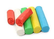 Color plasticine Royalty Free Stock Photography