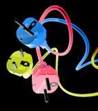 Color plug Stock Image