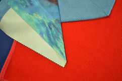The color and poled pattern of clothes Royalty Free Stock Photo