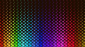 Color Polygonal Triangle Background Pattern Design. Cool Graphic Wallpaper vector illustration