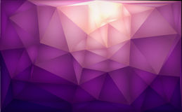 Color polygons background abstract Stock Photography