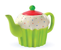 Color Porcelain teapot Royalty Free Stock Image