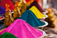 Color powder Royalty Free Stock Photography