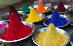 Color powder Royalty Free Stock Images