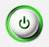 Color power button Royalty Free Stock Photos
