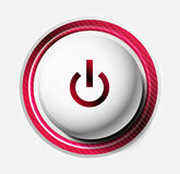 Color power button Stock Photography