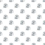 Color print pattern vector seamless. Repeat for any web design Stock Image