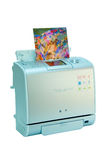 Color printer Stock Image