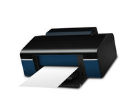 Color Printer Royalty Free Stock Photography