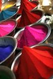 color pulver vertikalt royaltyfria foton