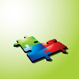 Color puzzle Royalty Free Stock Images